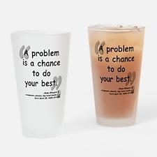 Ellington Best Quote Drinking Glass