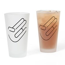 shocker Drinking Glass