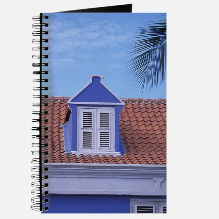 Willemstad Colorful buildings and detail i Journal