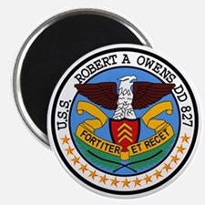 DD-827 USS ROBERT A OWENS Destroyer Ship Mi Magnet