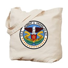 DD-827 USS ROBERT A OWENS Destroyer Ship  Tote Bag