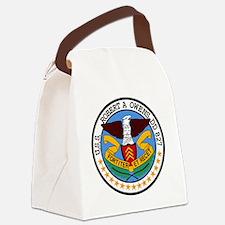 DD-827 USS ROBERT A OWENS Destroy Canvas Lunch Bag