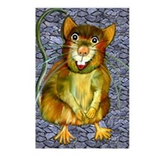 Laughing Rat Postcards (Package of 8)