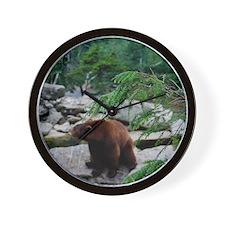 bearmodern6 Wall Clock
