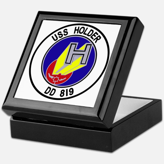 DD-819 USS Holder US NAVY Destroyer M Keepsake Box
