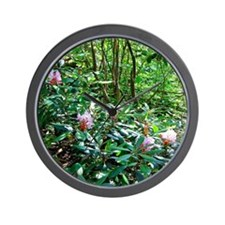flowerlgwall1 Wall Clock