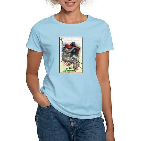 69th NY: Irish Brigade - Women's Pink T-Shirt