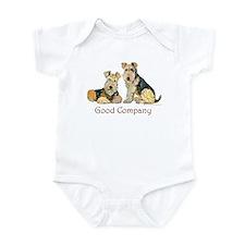 Lakeland Terriers - Good Comp Infant Bodysuit