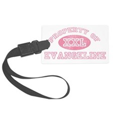 Property-of-Evangeline Luggage Tag