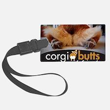corgibuttscover Luggage Tag