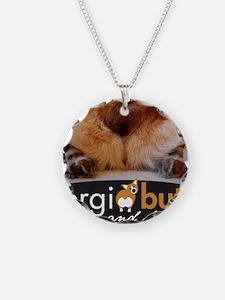 corgibuttscover Necklace