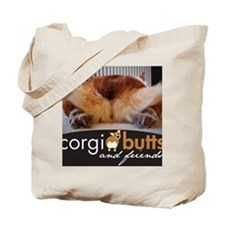 corgibuttscover Tote Bag