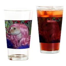NaniWig1 Drinking Glass