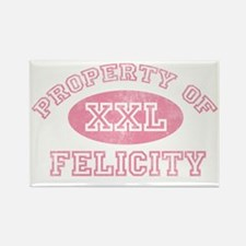 Property-of-Felicity Rectangle Magnet