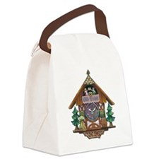 Cuckoo Clock Canvas Lunch Bag