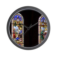 The cathedral is the 6th church on this Wall Clock