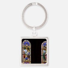 The cathedral is the 6th church on Square Keychain