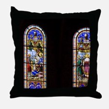 The cathedral is the 6th church on th Throw Pillow