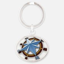 Dream Navigators Logo-Color Oval Keychain