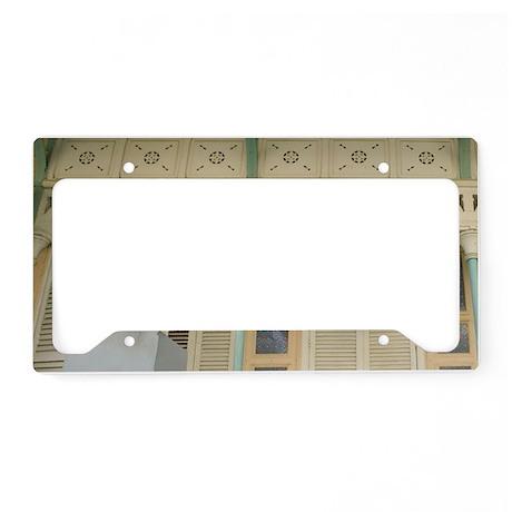 Pointe A Pitre: Doorway Detai License Plate Holder
