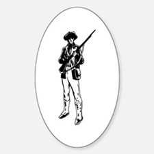 Minuteman Oval Decal