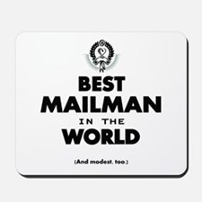 The Best in the World – Mailman Mousepad