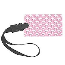 BCPinkRibCureTrLaptop Luggage Tag