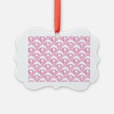 BCPinkRibCureTrLaptop Ornament