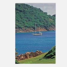 Caribbean, Antigua, Old r Postcards (Package of 8)