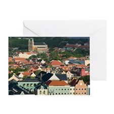 Otrobanda Waterfront/ Morningtad: Ot Greeting Card
