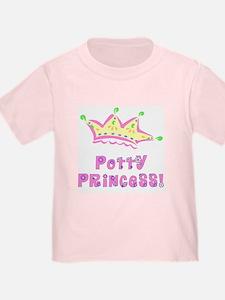 Potty Princess Big Girl Front/Back T
