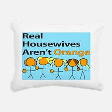 Orange Housewives Rectangular Canvas Pillow