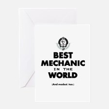 The Best in the World – Mechanic Greeting Cards