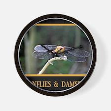 Dragonfly and Damselfly image Wall Clock