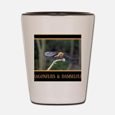 Dragonfly and Damselfly image Shot Glass