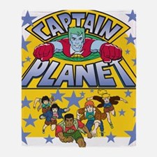 captainplanetone Throw Blanket