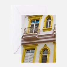 Luxurious Hotel Sevilla in Havana, H Greeting Card