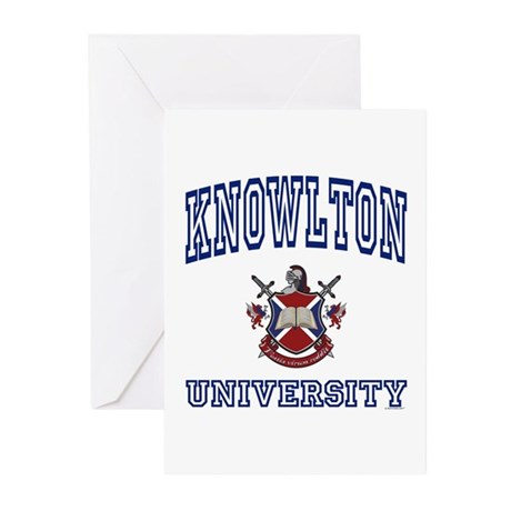 KNOWLTON University Greeting Cards (Pk of 10)