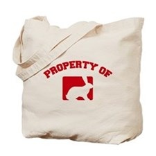 Property of my rabbit Tote Bag