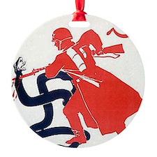 Death To Fascism WW2 Red Army Ornament