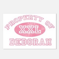Property-of-Deborah Postcards (Package of 8)