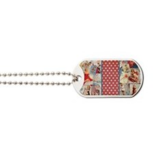 Pin-Up_Red-01 Dog Tags