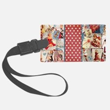 Pin-Up_Red-01 Luggage Tag