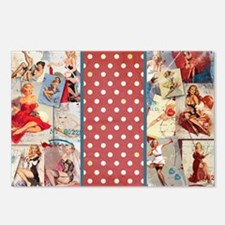 Pin-Up_Red-01 Postcards (Package of 8)