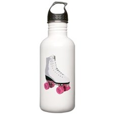 white roller Water Bottle