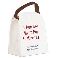 rub Canvas Lunch Bag