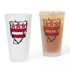 Washington_coat_of_arms Drinking Glass