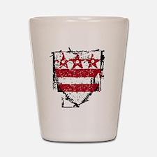 Washington_coat_of_arms Shot Glass