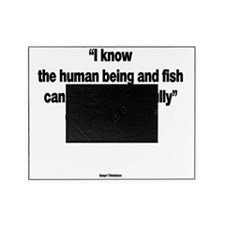 The Human Being And Fish - George W  Picture Frame
