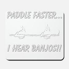banjos-dark Mousepad